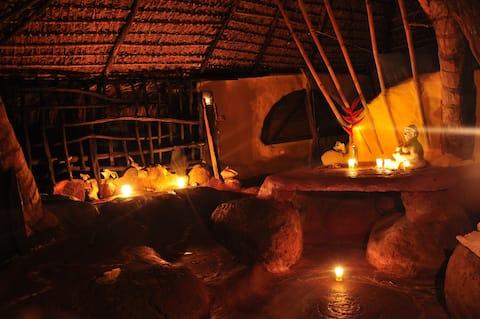 ENSUEÑOS. Bedroom for 3. Ground floor Cábaña Coco
