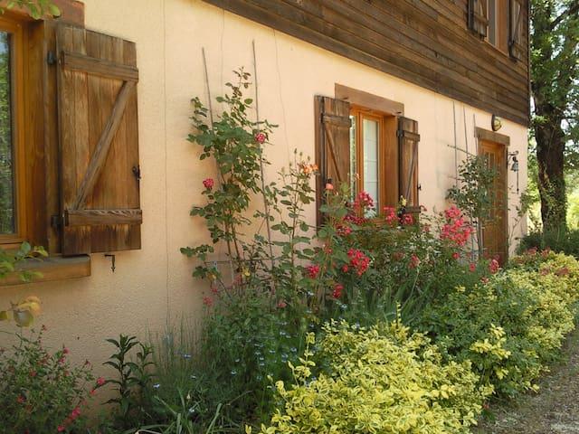 Chambre d'Hôtes N°2 dans maison pleine nature(Lot) - Loubressac