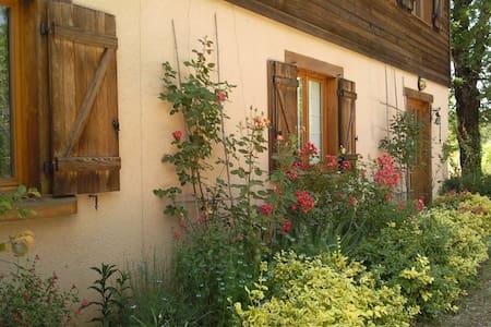 Chambre d'Hôtes N°2 dans maison pleine nature(Lot) - Loubressac - House