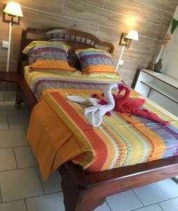 Martinique Nord chambre Goyave bas de villa