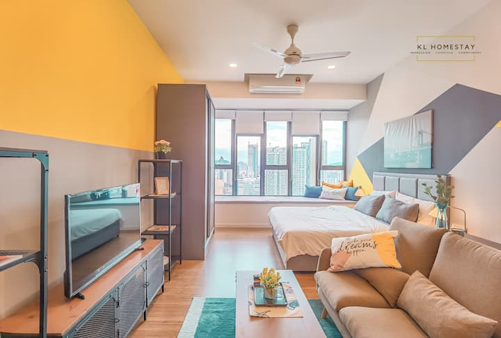 【NEW】DESIGNER SUITES@KL City with AIRBNB PLUS SPEC