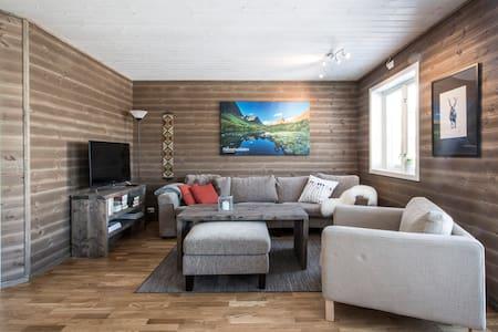 "Mountain Lodge on Strandafjellet, ""Habostaddalen"""