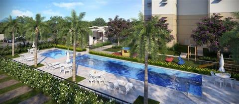 Apartamento c/ Varanda, Morada de Laranjeiras ES