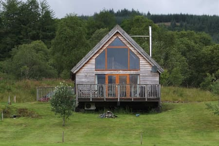 Osprey log cabin - Argyll and Bute