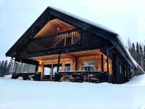 Gezellig berghuisje met sauna in Borgafjäll