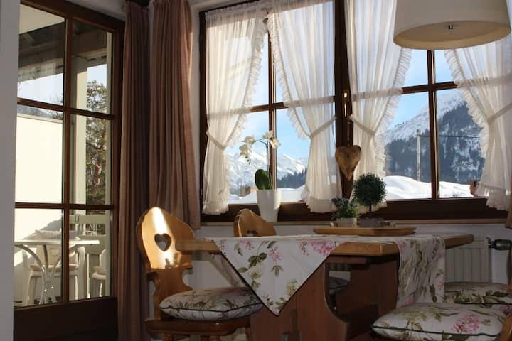 Ferienwohnung in den Allgäuer Alpen