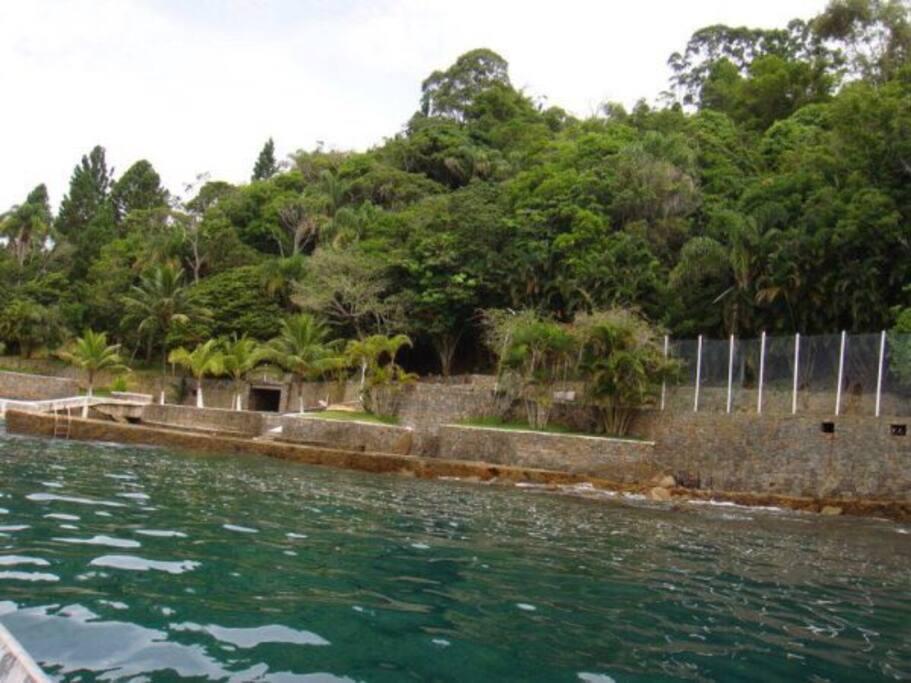 Casa na Costeira, vista de frente