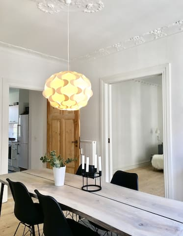 Beautiful appartment in the heart of Aarhus