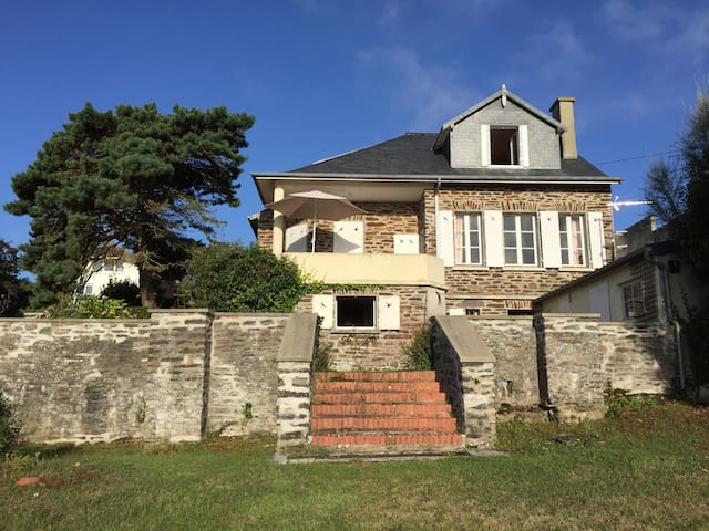 Vue sur mer Carteret Normandie - Barneville-Carteret - Dům