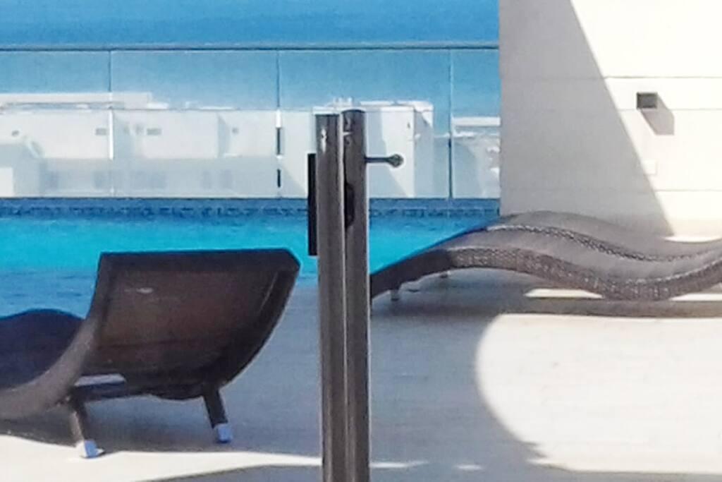 Espacio de piscina