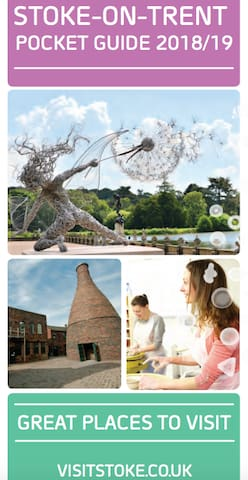 STOKE-ON-TRENT GREAT PLACES TO VISIT POCKET GUIDE