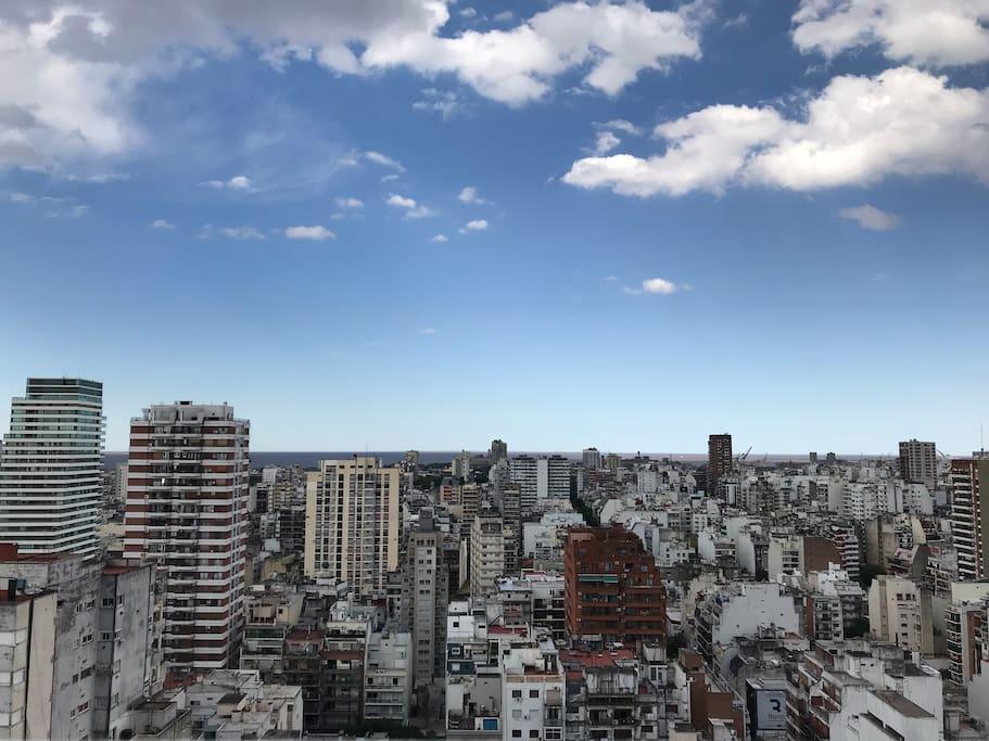 Vista única de Buenos Aires
