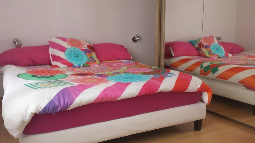 chambre confortable proche Geneve et lac - Veigy-Foncenex - Lägenhet