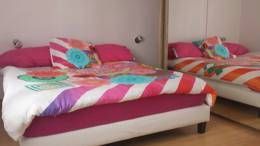 chambre confortable proche Geneve et lac - Veigy-Foncenex - อพาร์ทเมนท์