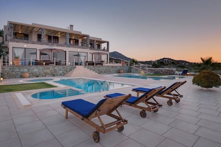 Sea Views at Anemomylos Apartments near Heraklion - Agia Pelagia