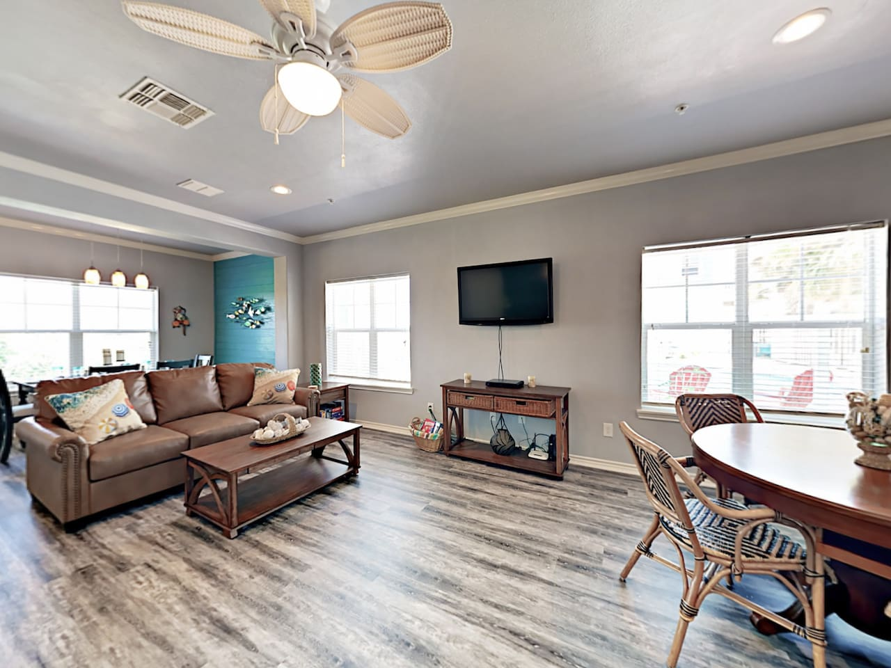 Welcome to Port Aransas! This modern townhouse is professionally managed by TurnKey Vacation Rentals.