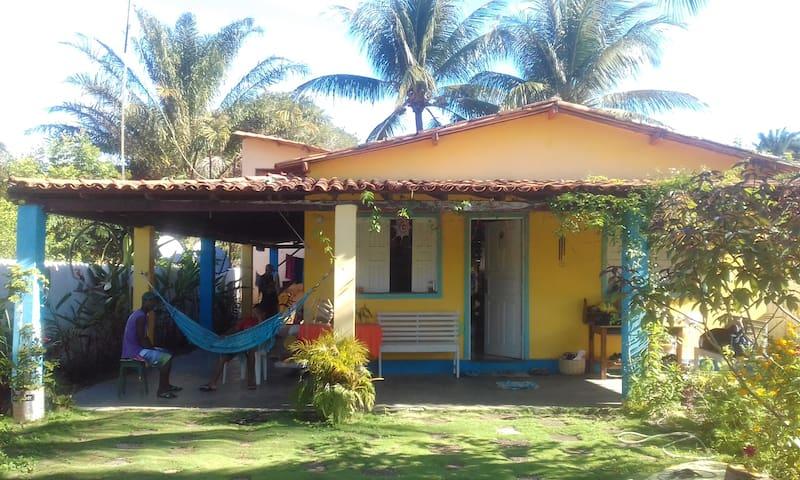 Casa de Praia familiar Vila do Sargi. Serra Grande
