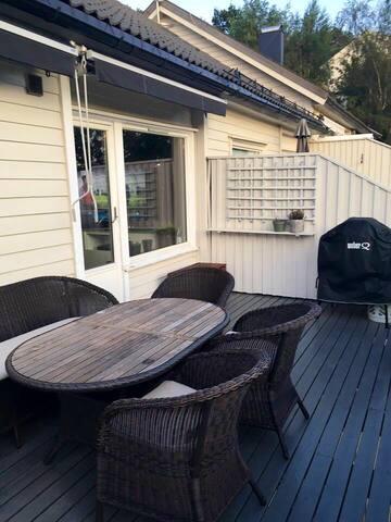 Familievennlig feriehus i hjertet av Kristiansand