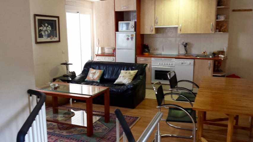 Duplex acogedor con terraza - Madri