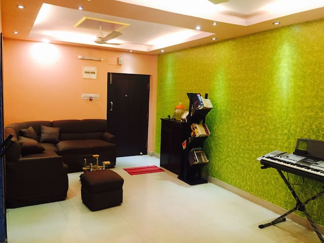 Cozy private room just 5 minutes away from airport - Kolkata - Appartement