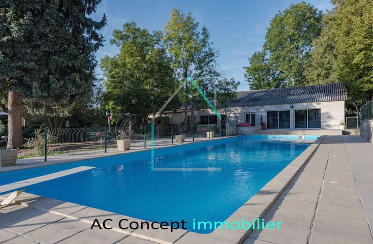 Villa d'exception Salle de fête, piscine & jacuzzi
