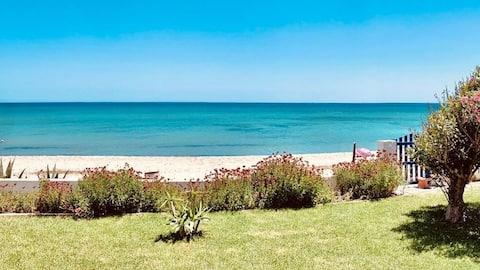 Maison au bord de la mer maamoura beach