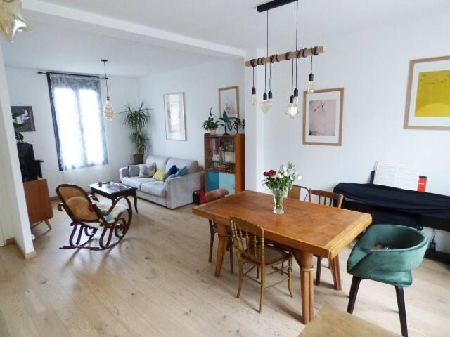Maison 82 m2 avec jardin de 200 m2 proche Paris