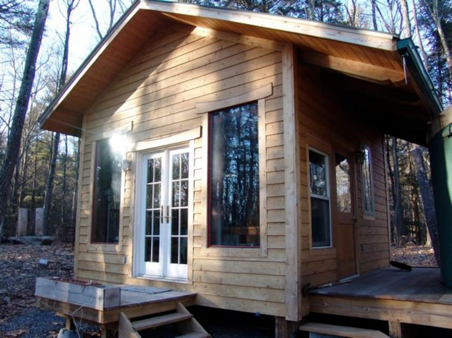 Post and Beam cabin