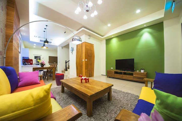 近羅東、宜蘭三星鄉裡溫馨舒適的私人空間,像回到家一樣的溫暖。