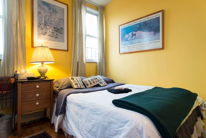 Room on Top - South End brownstone
