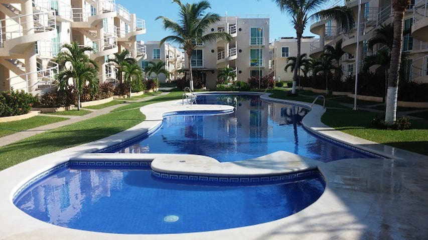 Departamento Fracc. Marina Diamante Acapulco