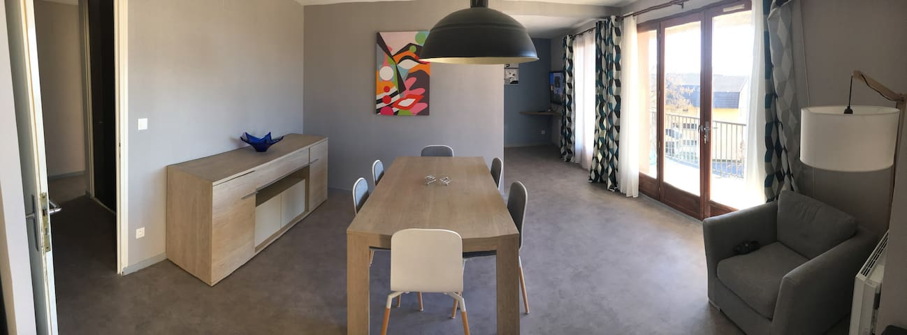 Appartement jusqu'à 8 pers à 2 pas du centre ville - Font-Romeu-Odeillo-Via - Apartment