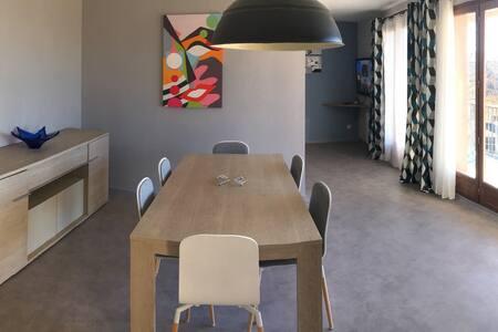 Appartement jusqu'à 8 pers à 2 pas du centre ville - Font-Romeu-Odeillo-Via - 公寓