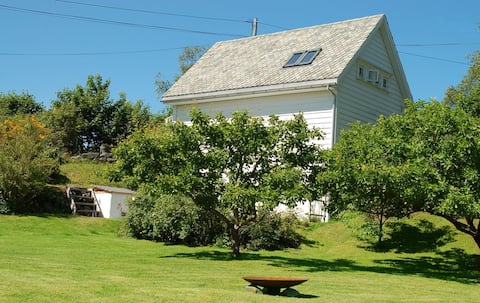 Little house on an island near Bergen
