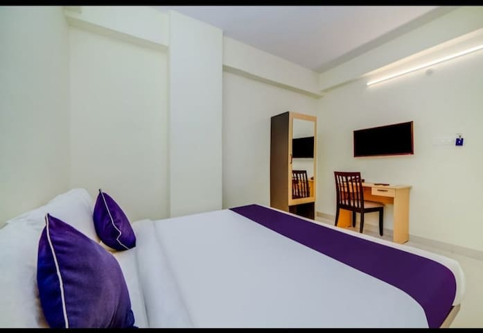 Comfortable rooms with AC,TV ,Hygienic washrooms