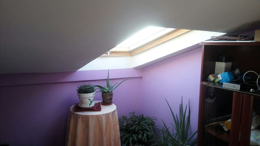 Habitación aguardillada acogedora - Aguilar de Campoo - Apartamento