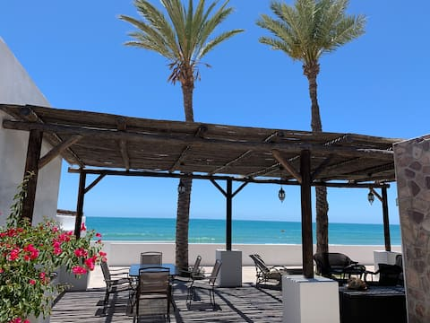 Three Palms right on the beach