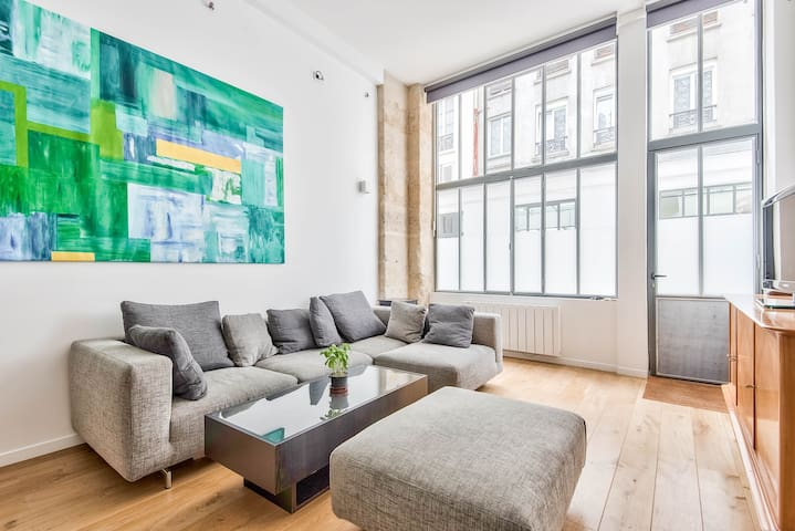MODERN AND COSY LOFT CLOSE TO CANAL ST MARTIN