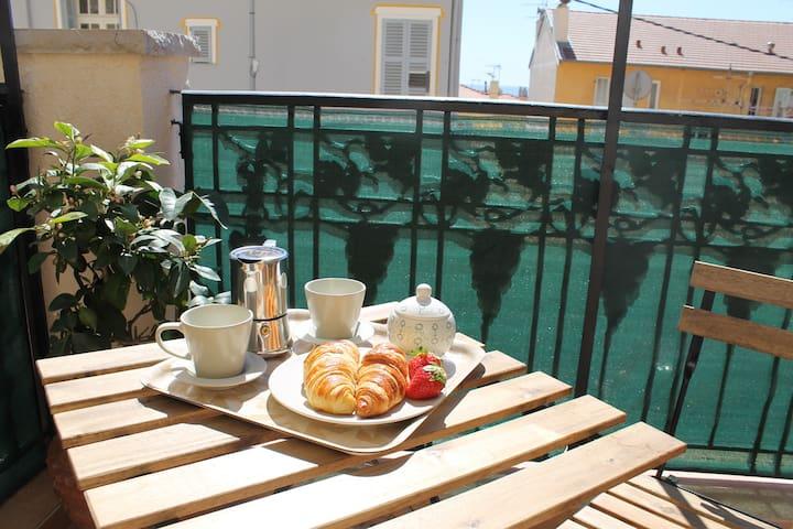 Bonjour Monaco - sunny seaview Flat - Beausoleil - Daire