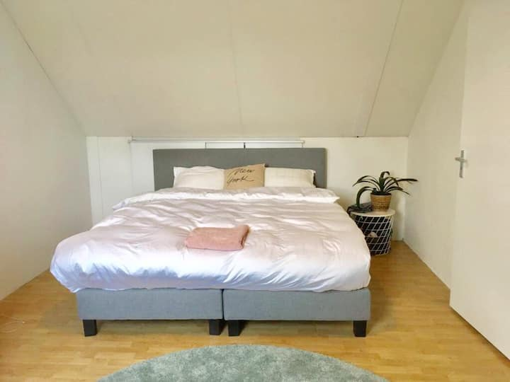 Spacious room with bath in Utrecht. Ideal 4 Expats