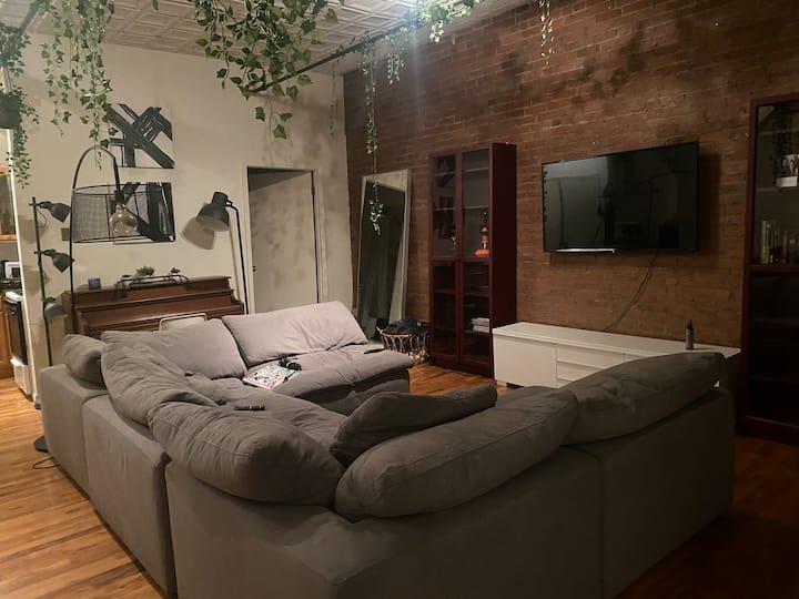 Beautiful Brooklyn loft