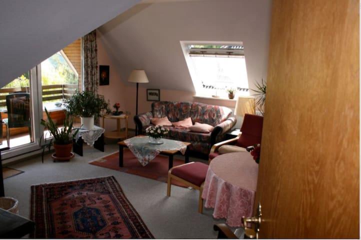 Gemütliche und ruhige Ferienwohnung - Breklum - Apartamento