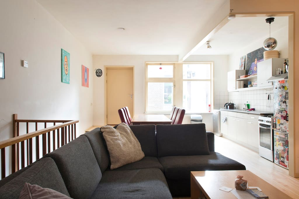 dam square 2floor apartment and 4 double bedrooms