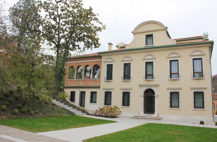 Villa Veneta con parco in centro storico a Treviso