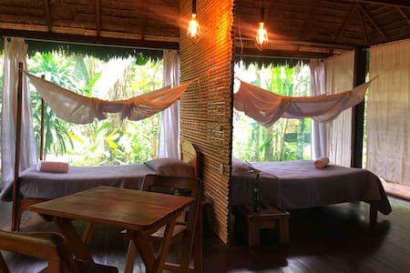 Peaceful Private Cabin in Amazon - Breakfast Incl.