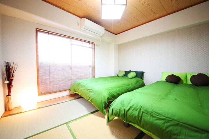 Namba is near★ Japanese room up to 8person to stay - Naniwa-ku, Ōsaka-shi - Flat