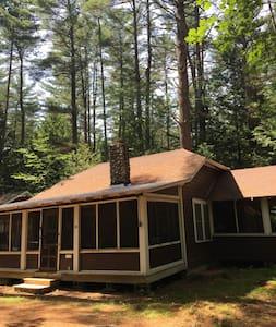Quaint 3br Up-To-Date Adirondack Cottage - Lake Luzerne