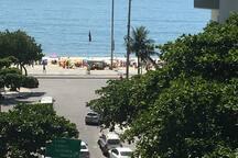 Beautiful Post 6 Copacabana beach from master bedroom