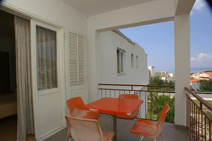 One bedroom apartment with terrace and sea view Tučepi, Makarska (A-2676-a)