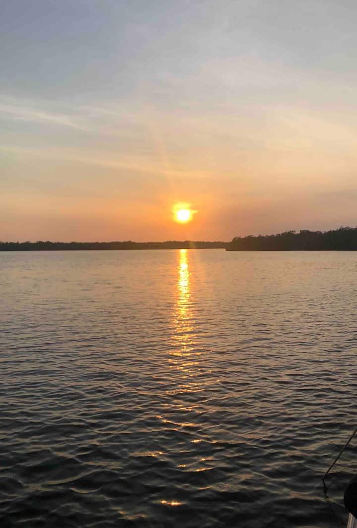 Island Sunset Retreat